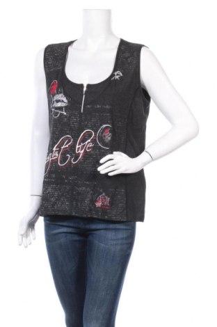 Γυναικείο αμάνικο μπλουζάκι Bonita, Μέγεθος XL, Χρώμα Γκρί, 95% βισκόζη, 5% ελαστάνη, Τιμή 8,64€