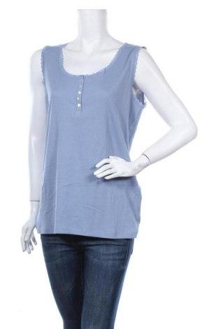 Γυναικείο αμάνικο μπλουζάκι Charles Vogele, Μέγεθος XL, Χρώμα Μπλέ, Τιμή 9,74€