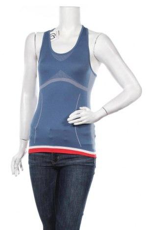 Γυναικείο αμάνικο μπλουζάκι Crane, Μέγεθος S, Χρώμα Μπλέ, 75% πολυεστέρας, 20% πολυαμίδη, 5% ελαστάνη, Τιμή 6,07€