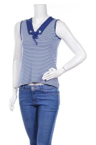 Γυναικείο αμάνικο μπλουζάκι Gina Laura, Μέγεθος S, Χρώμα Λευκό, Τιμή 2,98€