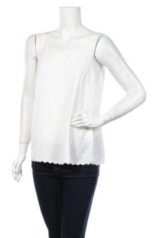 Γυναικείο αμάνικο μπλουζάκι H&M Conscious Collection, Μέγεθος L, Χρώμα Εκρού, Πολυεστέρας, Τιμή 8,64€