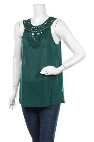 Γυναικείο αμάνικο μπλουζάκι H&M Conscious Collection, Μέγεθος M, Χρώμα Πράσινο, Πολυεστέρας, Τιμή 8,83€