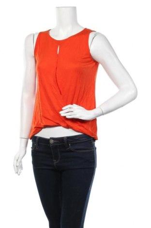 Γυναικείο αμάνικο μπλουζάκι H&M Conscious Collection, Μέγεθος S, Χρώμα Πορτοκαλί, 100% lyocell, Τιμή 8,44€
