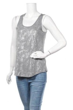 Γυναικείο αμάνικο μπλουζάκι H&M Conscious Collection, Μέγεθος S, Χρώμα Γκρί, 95% πολυεστέρας, 5% ελαστάνη, Τιμή 10,39€