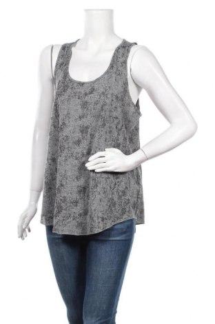 Γυναικείο αμάνικο μπλουζάκι H&M Conscious Collection, Μέγεθος L, Χρώμα Γκρί, 95% πολυεστέρας, 5% ελαστάνη, Τιμή 10,52€