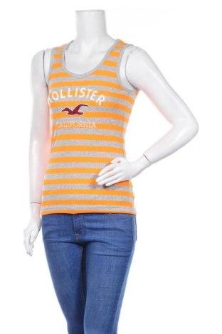 Γυναικείο αμάνικο μπλουζάκι Hollister, Μέγεθος S, Χρώμα Πορτοκαλί, Τιμή 8,83€