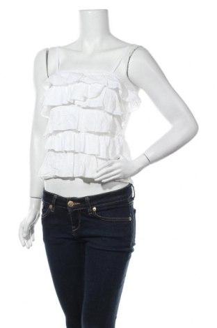 Γυναικείο αμάνικο μπλουζάκι Hollister, Μέγεθος S, Χρώμα Εκρού, 60% βαμβάκι, 40% πολυεστέρας, Τιμή 9,74€