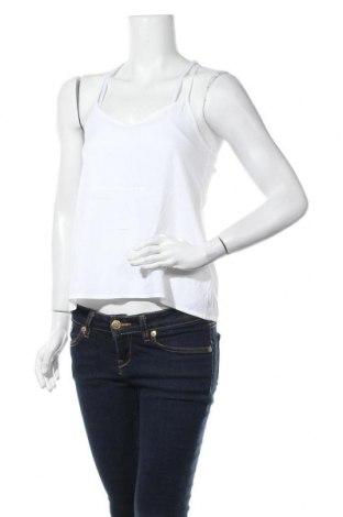 Γυναικείο αμάνικο μπλουζάκι Hollister, Μέγεθος XS, Χρώμα Λευκό, Τιμή 9,09€