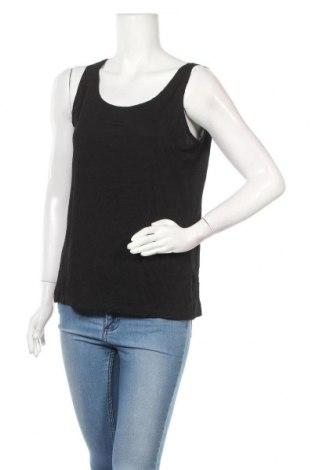 Γυναικείο αμάνικο μπλουζάκι Indiska, Μέγεθος XL, Χρώμα Μαύρο, 93% βισκόζη, 7% ελαστάνη, Τιμή 7,17€