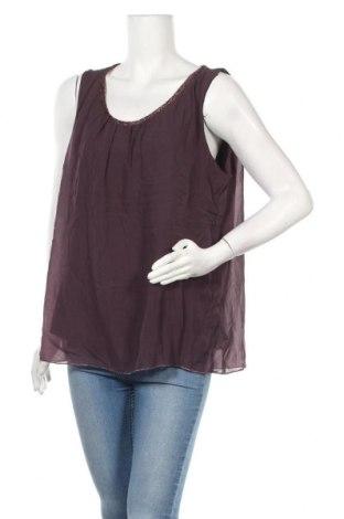 Γυναικείο αμάνικο μπλουζάκι Jean Pascale, Μέγεθος XL, Χρώμα Βιολετί, Πολυεστέρας, Τιμή 16,89€