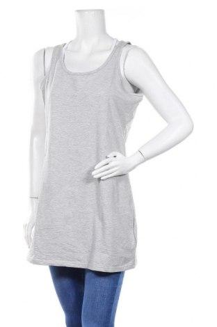 Γυναικείο αμάνικο μπλουζάκι Jean Pascale, Μέγεθος XXL, Χρώμα Γκρί, 95% βαμβάκι, 5% ελαστάνη, Τιμή 9,09€