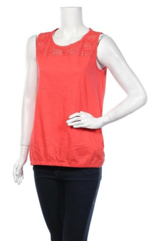 Γυναικείο αμάνικο μπλουζάκι John Baner, Μέγεθος M, Χρώμα Κόκκινο, Βαμβάκι, Τιμή 8,83€