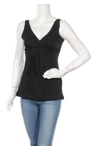 Γυναικείο αμάνικο μπλουζάκι Joy, Μέγεθος S, Χρώμα Μαύρο, Βαμβάκι, Τιμή 11,04€