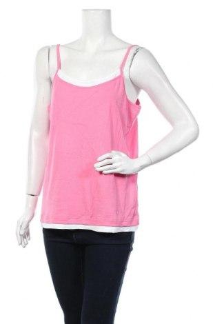 Γυναικείο αμάνικο μπλουζάκι Joy, Μέγεθος XL, Χρώμα Ρόζ , Βαμβάκι, Τιμή 12,86€