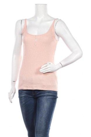 Γυναικείο αμάνικο μπλουζάκι Kiabi, Μέγεθος L, Χρώμα Ρόζ , Τιμή 9,74€