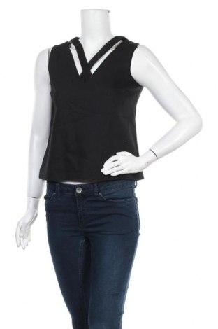 Γυναικείο αμάνικο μπλουζάκι Kookai, Μέγεθος S, Χρώμα Μαύρο, Τιμή 10,39€