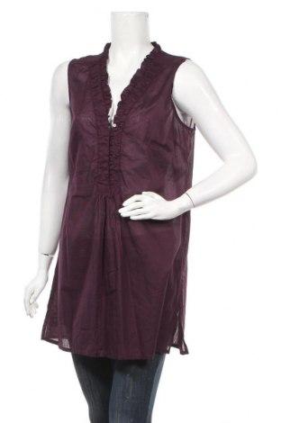Γυναικείο αμάνικο μπλουζάκι Maddison, Μέγεθος XL, Χρώμα Βιολετί, Βαμβάκι, Τιμή 8,64€