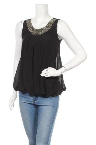 Γυναικείο αμάνικο μπλουζάκι Madonna, Μέγεθος S, Χρώμα Μαύρο, 95% πολυεστέρας, 5% ελαστάνη, Τιμή 3,18€