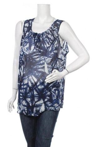 Γυναικείο αμάνικο μπλουζάκι Malva, Μέγεθος XXL, Χρώμα Μπλέ, Πολυεστέρας, Τιμή 11,69€