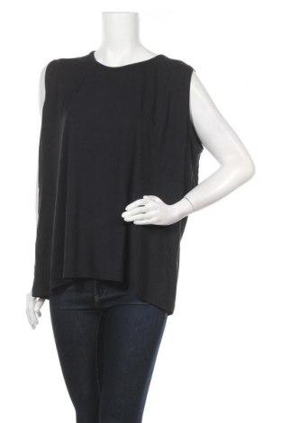 Γυναικείο αμάνικο μπλουζάκι Malva, Μέγεθος XXL, Χρώμα Μαύρο, 92% βισκόζη, 8% ελαστάνη, Τιμή 9,09€