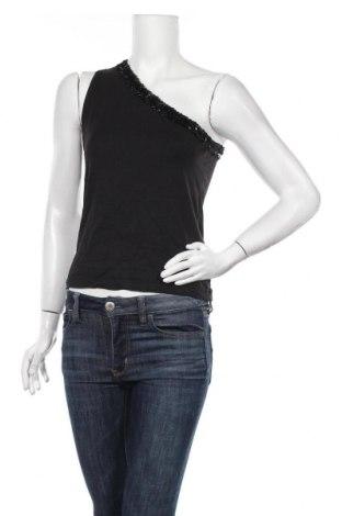 Γυναικείο αμάνικο μπλουζάκι Mexx, Μέγεθος L, Χρώμα Μαύρο, 95% πολυαμίδη, 5% ελαστάνη, Τιμή 3,41€
