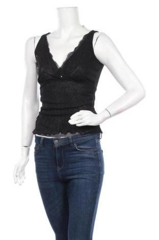 Γυναικείο αμάνικο μπλουζάκι Mexx, Μέγεθος S, Χρώμα Μαύρο, Πολυαμίδη, Τιμή 4,97€