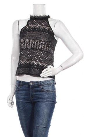 Γυναικείο αμάνικο μπλουζάκι Morgan, Μέγεθος S, Χρώμα Μαύρο, 60% βαμβάκι, 40% πολυεστέρας, Τιμή 11,69€