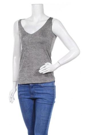 Γυναικείο αμάνικο μπλουζάκι Morgan, Μέγεθος XS, Χρώμα Γκρί, Τιμή 8,31€