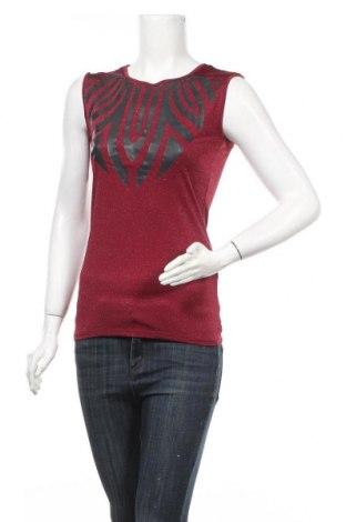 Γυναικείο αμάνικο μπλουζάκι Morgan, Μέγεθος XS, Χρώμα Ρόζ , 98% πολυεστέρας, 6% ελαστάνη, 5% μεταλλικά νήματα, Τιμή 8,44€