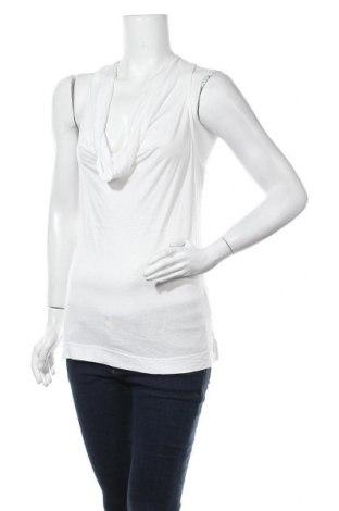 Γυναικείο αμάνικο μπλουζάκι Morgan, Μέγεθος S, Χρώμα Λευκό, Τιμή 10,49€