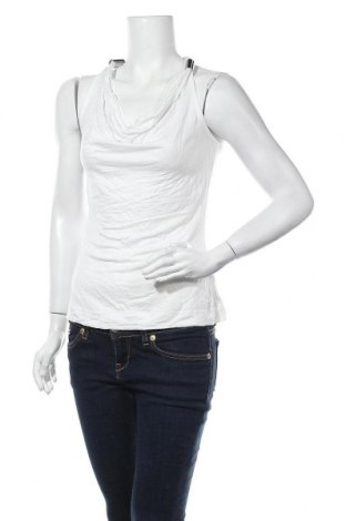Γυναικείο αμάνικο μπλουζάκι Morgan, Μέγεθος M, Χρώμα Λευκό, Βισκόζη, Τιμή 9,09€