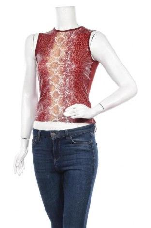 Γυναικείο αμάνικο μπλουζάκι Morgan, Μέγεθος S, Χρώμα Κόκκινο, Πολυαμίδη, Τιμή 10,52€