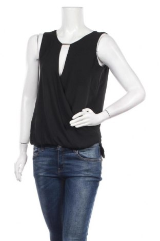 Γυναικείο αμάνικο μπλουζάκι Morgan, Μέγεθος M, Χρώμα Μαύρο, Τιμή 11,04€
