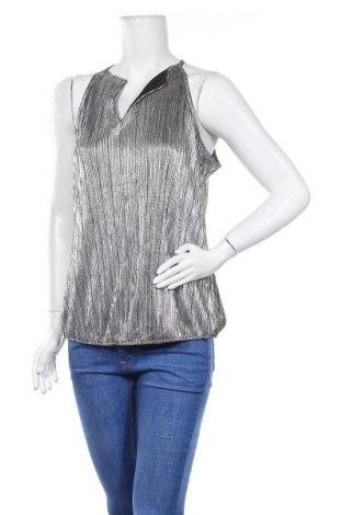 Γυναικείο αμάνικο μπλουζάκι Morgan, Μέγεθος L, Χρώμα Ασημί, Τιμή 10,49€