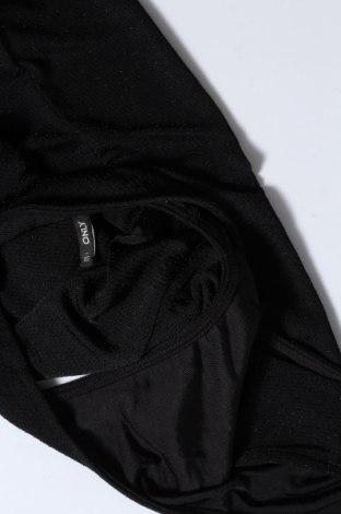 Дамски потник ONLY, Размер XS, Цвят Черен, 82% полиамид, 11% метални нишки, 7% еластан, Цена 24,00лв.