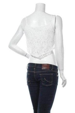 Γυναικείο αμάνικο μπλουζάκι ONLY, Μέγεθος M, Χρώμα Λευκό, 70% βαμβάκι, 30% πολυαμίδη, Τιμή 12,37€