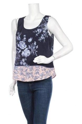 Γυναικείο αμάνικο μπλουζάκι Oasis, Μέγεθος L, Χρώμα Μπλέ, Πολυεστέρας, Τιμή 9,74€