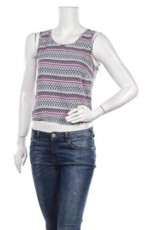 Γυναικείο αμάνικο μπλουζάκι Sinsay, Μέγεθος L, Χρώμα Πολύχρωμο, Βισκόζη, Τιμή 3,86€