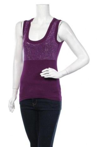Γυναικείο αμάνικο μπλουζάκι Steffen Schraut, Μέγεθος S, Χρώμα Βιολετί, 95% βισκόζη, 5% ελαστάνη, Τιμή 23,45€