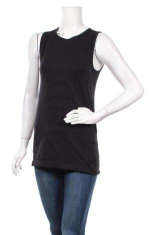 Γυναικείο αμάνικο μπλουζάκι TCM, Μέγεθος L, Χρώμα Μαύρο, 95% πολυαμίδη, 5% ελαστάνη, Τιμή 7,01€