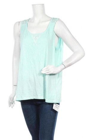 Γυναικείο αμάνικο μπλουζάκι Tchibo, Μέγεθος XXL, Χρώμα Πράσινο, Βαμβάκι, Τιμή 10,39€