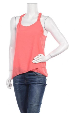 Γυναικείο αμάνικο μπλουζάκι Today, Μέγεθος S, Χρώμα Πορτοκαλί, Τιμή 12,34€