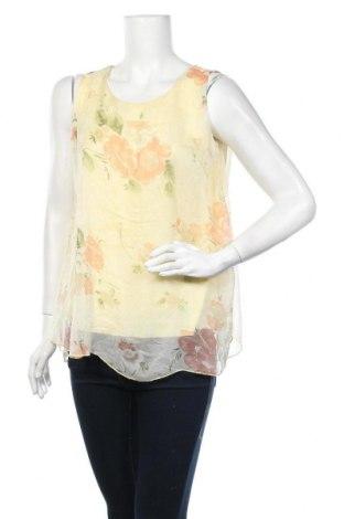 Γυναικείο αμάνικο μπλουζάκι Today, Μέγεθος S, Χρώμα Κίτρινο, Τιμή 8,83€
