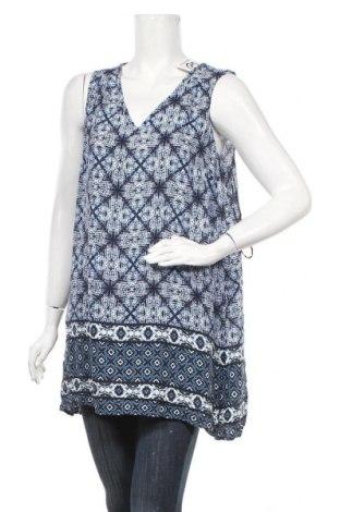 Γυναικείο αμάνικο μπλουζάκι Tu, Μέγεθος XL, Χρώμα Μπλέ, Βισκόζη, Τιμή 9,09€