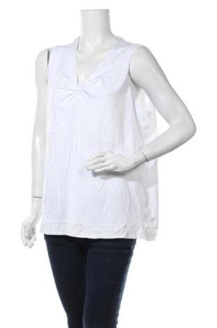 Γυναικείο αμάνικο μπλουζάκι Ulla Popken, Μέγεθος XXL, Χρώμα Λευκό, 95% βισκόζη, 5% ελαστάνη, Τιμή 11,04€