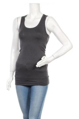 Γυναικείο αμάνικο μπλουζάκι Vert De Rage, Μέγεθος S, Χρώμα Γκρί, Τιμή 4,64€