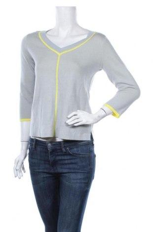 Дамски пуловер Comma,, Размер XS, Цвят Син, 48% памук, 48% вискоза, 4% еластан, Цена 13,44лв.