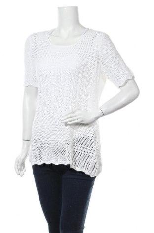 Dámský svetr Esmara, Velikost L, Barva Bílá, 50% bavlna, 50%acryl, Cena  43,00Kč
