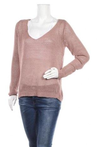 Дамски пуловер Garcia Jeans, Размер L, Цвят Пепел от рози, Цена 21,00лв.