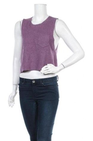 Дамски пуловер Kling, Размер M, Цвят Лилав, 70% вискоза, 10% ангора, 20% полиамид, Цена 19,76лв.
